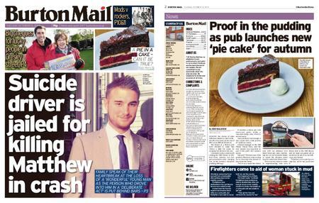 Burton Mail – October 15, 2019