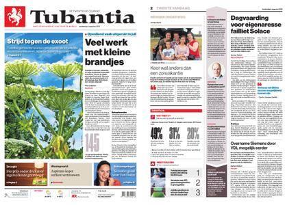 Tubantia - Enschede – 09 augustus 2018