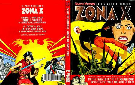 Martin Mystere Zona X - Volume 10 - Dieci Secondi Per Morire - Pendolare Del Tempo