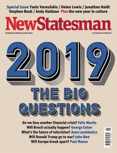 New Statesman - 4 - 10 January 2019