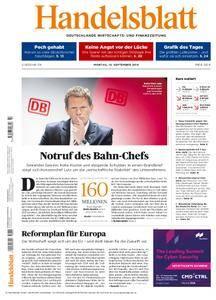 Handelsblatt - 10. September 2018