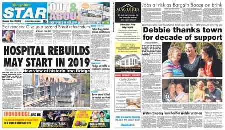 Shropshire Star Shrewsbury Edition – March 29, 2018