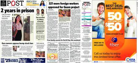 The Guam Daily Post – April 21, 2018