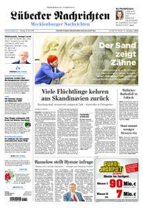 Lübecker Nachrichten Mecklenburg - 10. Mai 2019