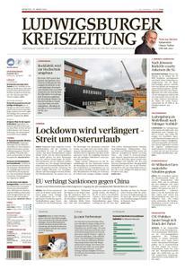 Ludwigsburger Kreiszeitung LKZ - 23 März 2021