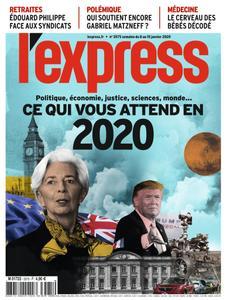 L'Express - 08 janvier 2020
