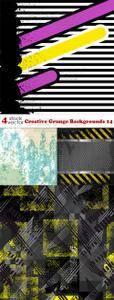 Vectors - Creative Grunge Backgrounds 14