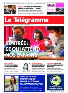 Le Télégramme Brest Abers Iroise – 23 août 2021