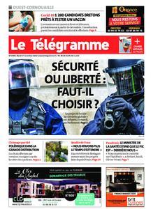 Le Télégramme Ouest Cornouaille – 17 novembre 2020