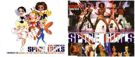 Spice Girls - Viva Forever (UK CD5's #1 and #2) {Virgin} **[RE-UP]**