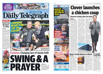The Daily Telegraph (Sydney) – October 06, 2018