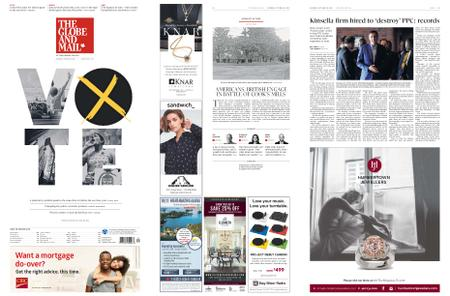 The Globe and Mail – October 19, 2019