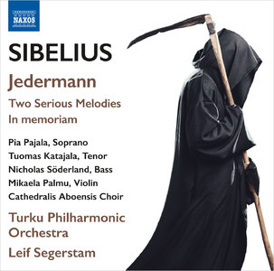 Leif Segerstam, Turku Philharmonic Orchestra - Jean Sibelius: Jedermann; Two Serious Melodies; In memoriam (2015) [Re-Up]