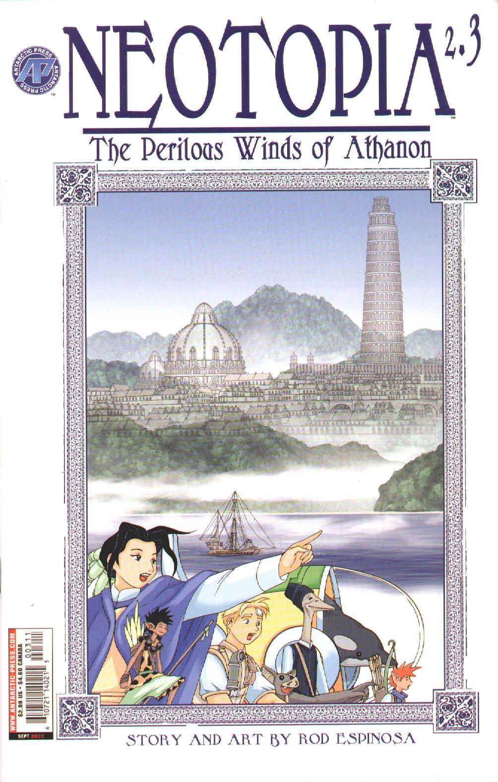 Neotopia v2-The Perilous Winds of Athanon 001-005 2003 Neotopia v2 03 2003 nuther