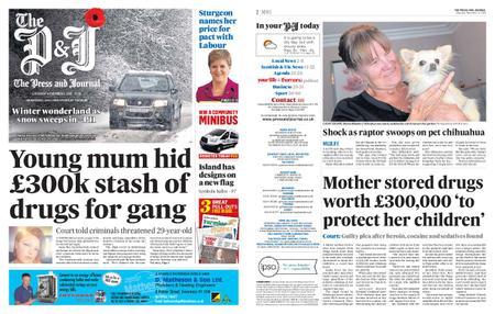 The Press and Journal Moray – November 09, 2019