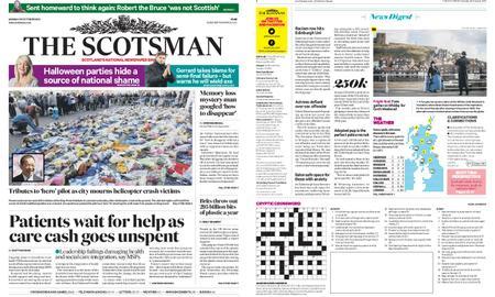 The Scotsman – October 29, 2018