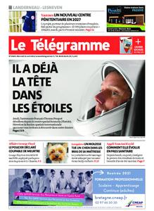 Le Télégramme Landerneau - Lesneven – 21 avril 2021
