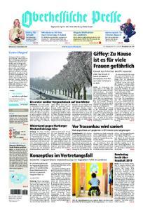 Oberhessische Presse Marburg/Ostkreis - 21. November 2018