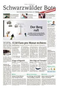Schwarzwälder Bote Sulz - 14. Dezember 2018