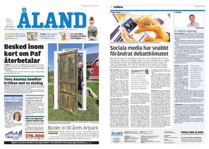 Ålandstidningen – 14 maj 2019