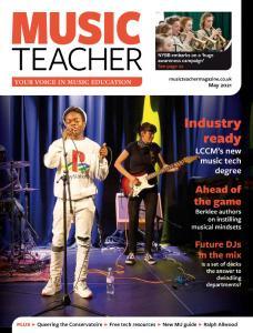 Music Teacher - May 2021
