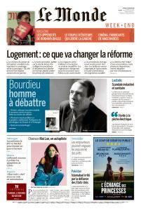 Le Monde du Samedi 13 Janvier 2018