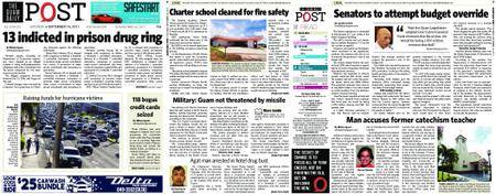 The Guam Daily Post – September 16, 2017