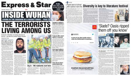 Express and Star City Edition – February 01, 2020