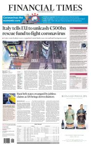 Financial Times USA - March 20, 2020