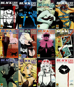 Black Kiss #1-12 Coleccion completa