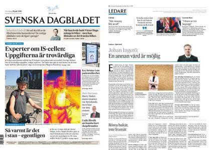 Svenska Dagbladet – 26 juli 2018