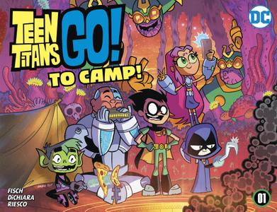 Teen Titans Go! To Camp 001 2020 digital Son of Ultron