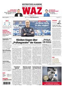 WAZ Westdeutsche Allgemeine Zeitung Oberhausen-Sterkrade - 26. April 2019