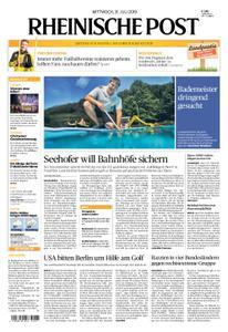 Rheinische Post – 31. Juli 2019
