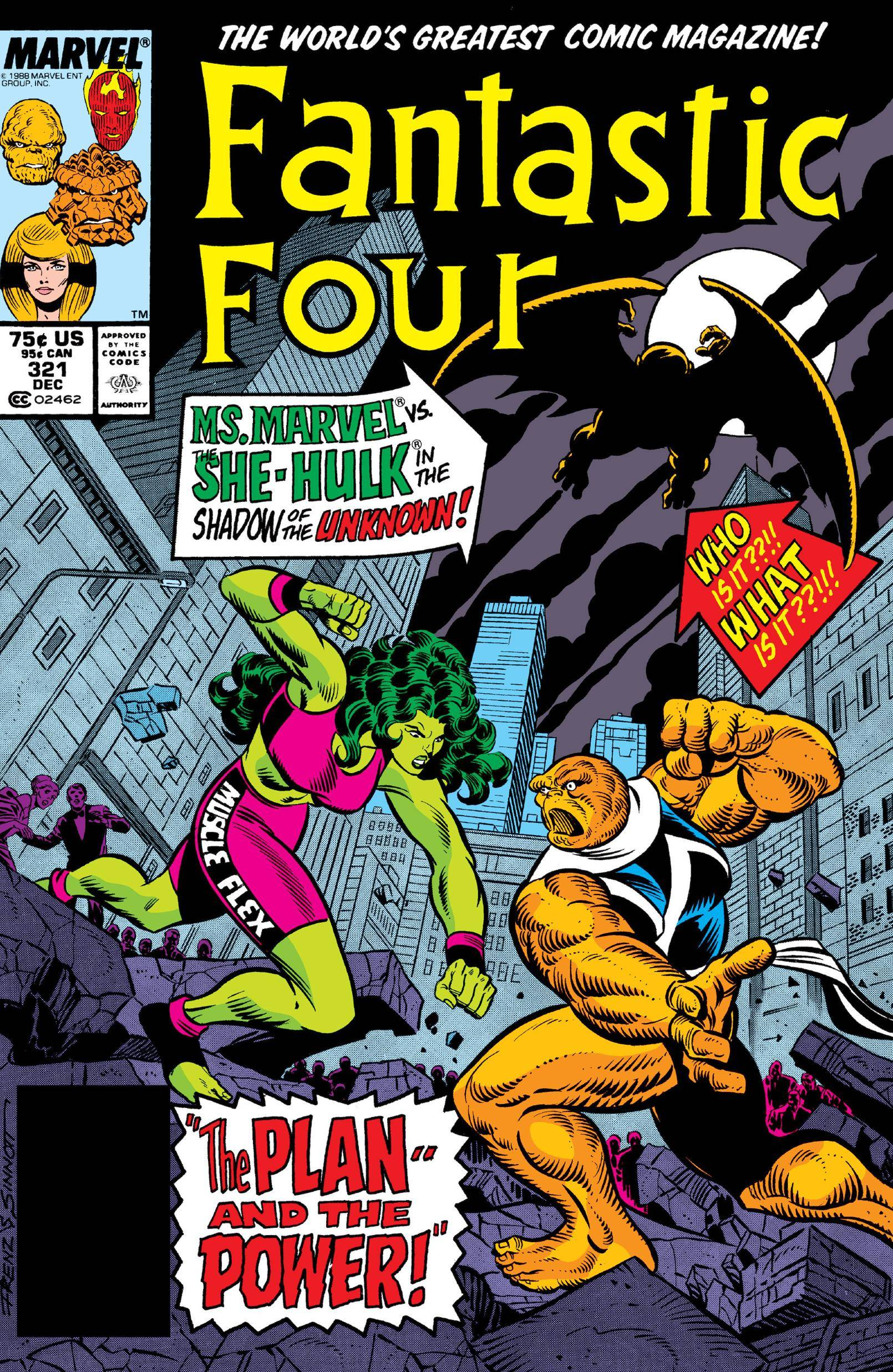 Fantastic Four 321 1988 Digital Shadowcat-Empire