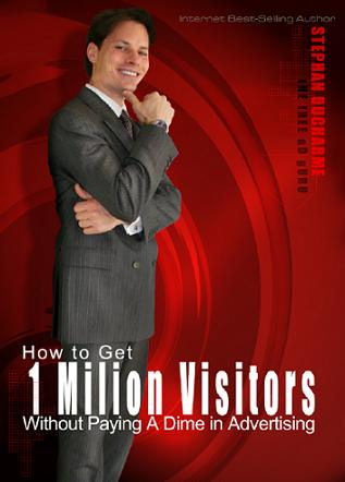 How to get 1 MILLION VISITORS without paying a dime in advertising