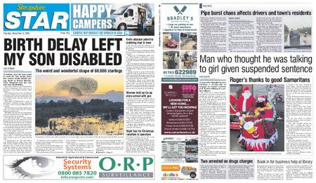Shropshire Star Shrewsbury Edition – December 03, 2019