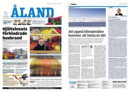 Ålandstidningen – 18 december 2018