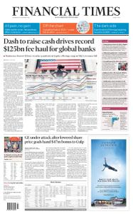 Financial Times Middle East - December 30, 2020