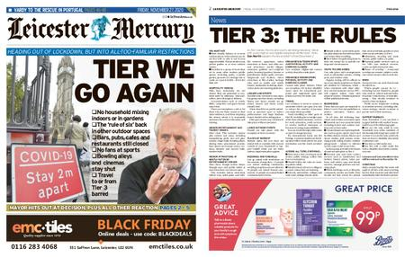 Leicester Mercury – November 27, 2020