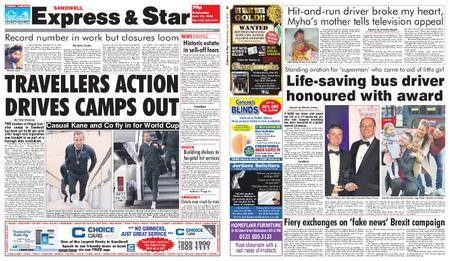 Express and Star Sandwell Edition – June 13, 2018