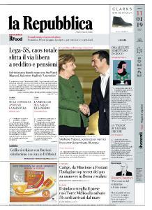 la Repubblica - 11 Gennaio 2019