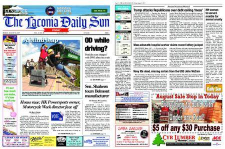 The Laconia Daily Sun – August 25, 2017