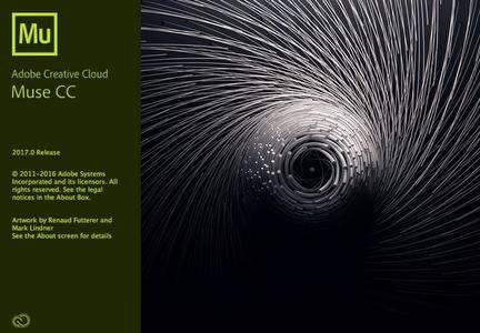 Adobe Muse CC 2017.0.3.20 Mac OS X