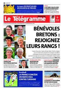 Le Télégramme Brest Abers Iroise – 05 septembre 2021