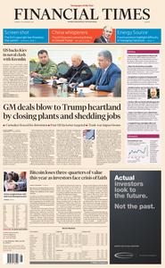 Financial Times Europe – 27 November 2018