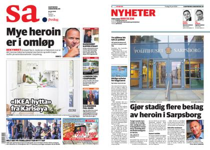 Sarpsborg Arbeiderblad – 26. juni 2020