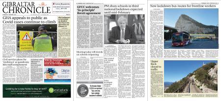 Gibraltar Chronicle – 05 January 2021