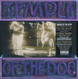 Temple Of The Dog - Temple Of The Dog (1991) [2016, 2CD + DVD + Blu-ray Super Deluxe Box Set]