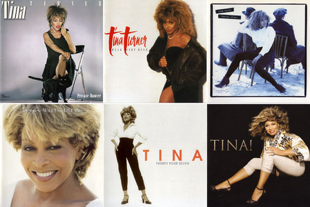 Tina Turner - Albums Collection 1984-2008 (7CD) [Re-Up]